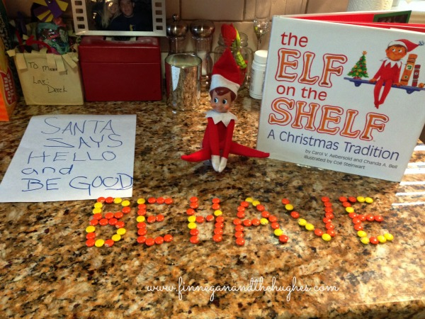 Our Elf is Back!