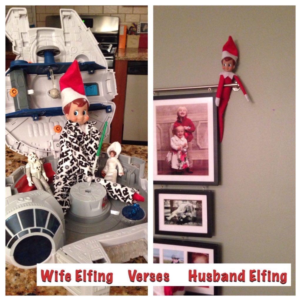 HUSBAND VS WIFE ELFING