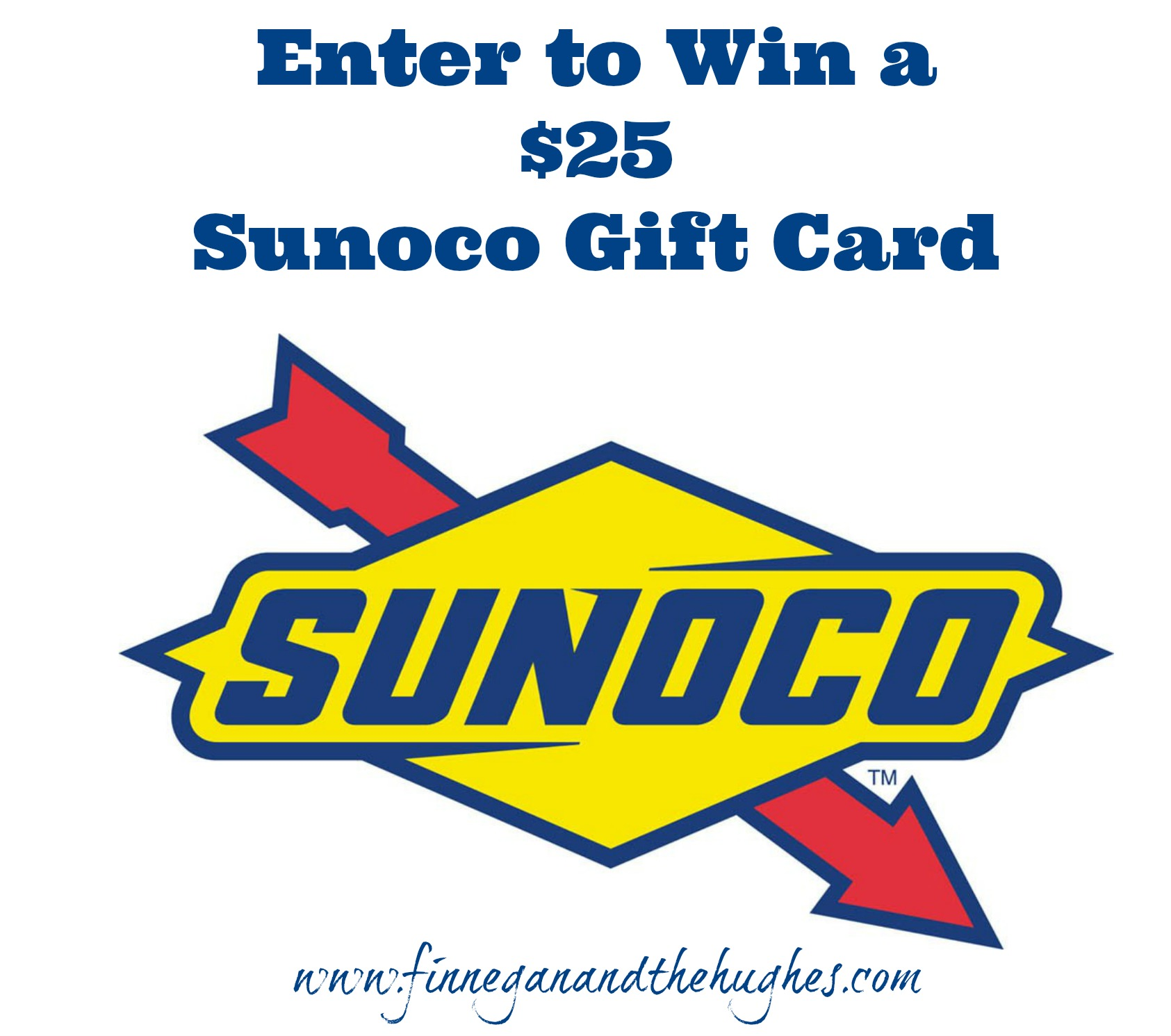 Sunoco Gift Card Giveaway