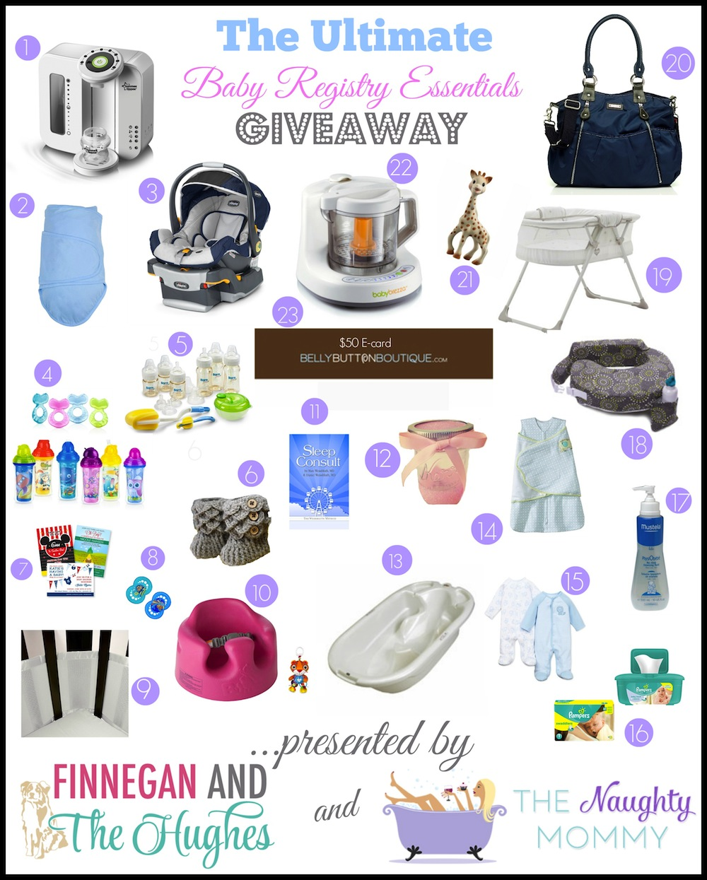 The Ultimate Baby Registry Essentials Giveaway!