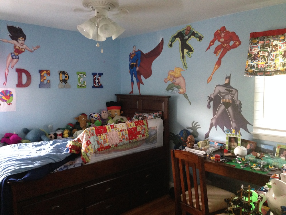 decorating with disney princess and superhero wall decals