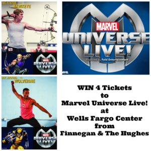 Win 4 Tickets to Marvel Universe Live