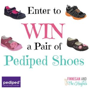 Enter to  WIN  a Pair of  Pediped Shoes