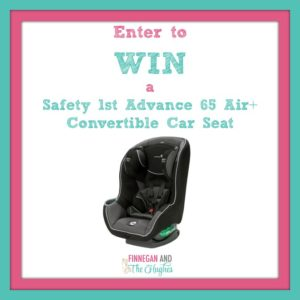 Enter to  WIN  a  Safety 1st Advance 65 Air+ Convertible Car Seat