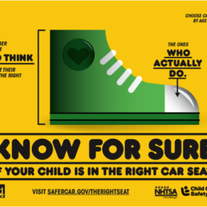Is Your Child In The Right Seat? #therightseat