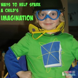 Ways to help Spark a Child's Imagination