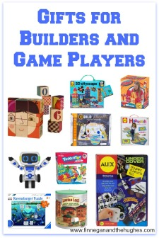 Gifts for Builders and Game Players