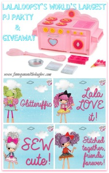 Lalaloopsy's World's Largest PJ Party AND Giveaway #LalaPJParty