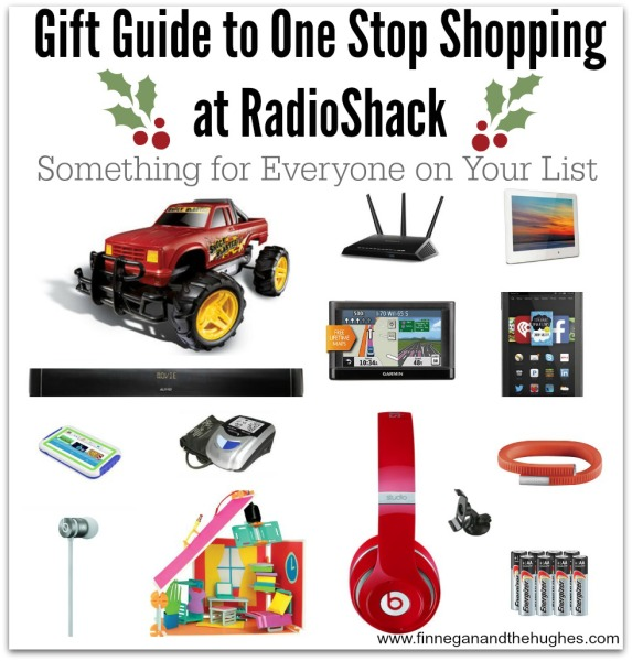 Gift Guide to One Stop Shopping  at RadioShack