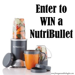 Nutribullet Review and Giveaway