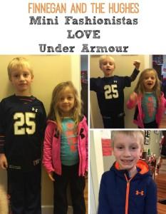 Mini Fashionistas LOVE Under Armour