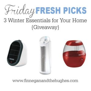 Fresh Picks: 3 Winter Essentials for Your Home {Giveaway}