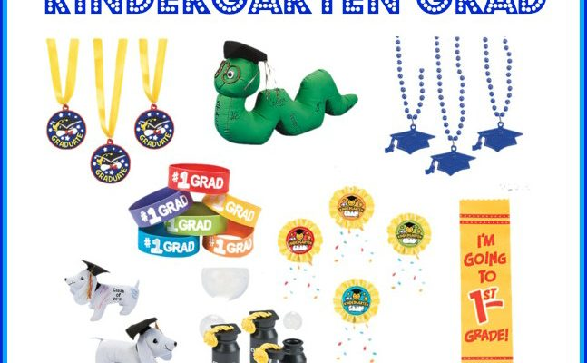 Kindergarten Graduation Goodies