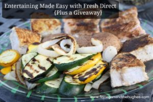 Entertaining Made Easy with Fresh Direct {Plus a Giveaway}