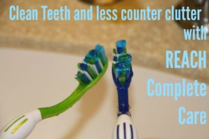 Clean Teeth and Less Counter Clutter with REACH
