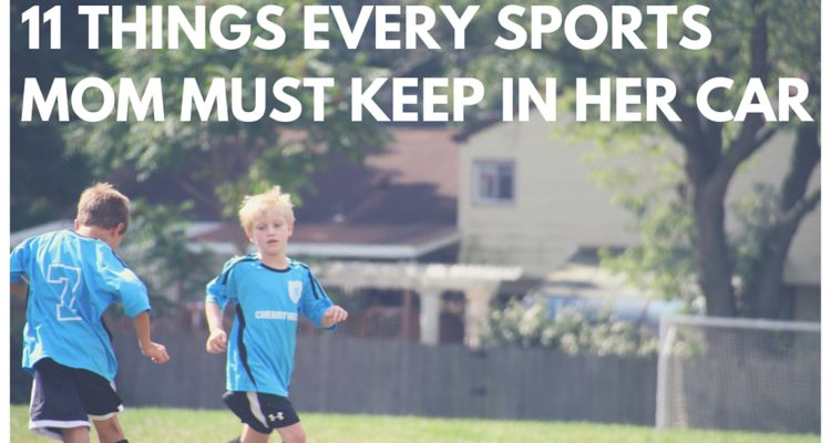 Friday Fresh Picks: 11 Things Every Sports Mom Must Keep in Her Car