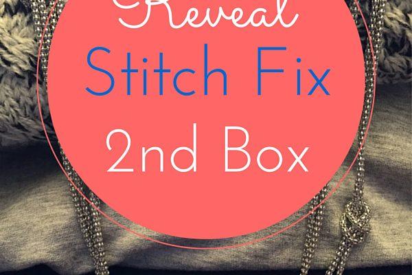 Stitch Fix 2nd Box Reveal