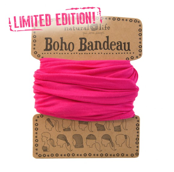 Limited Edition Pink Boho Bandeau