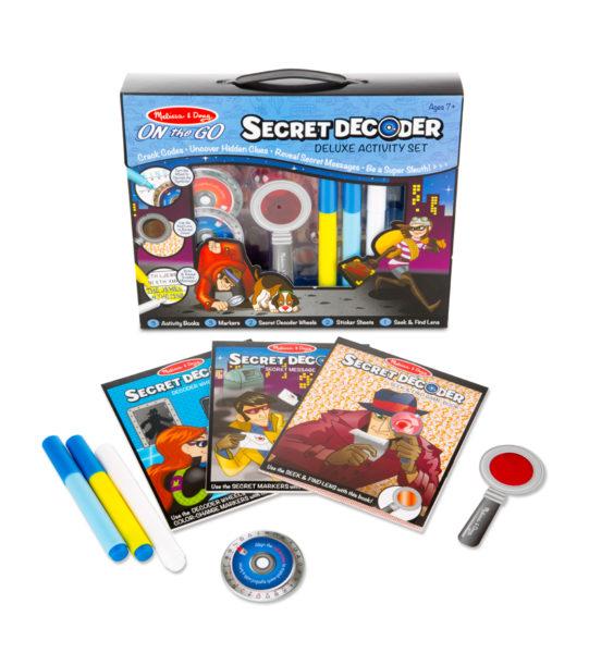 5238-Deluxe Secret Decoder Pieces