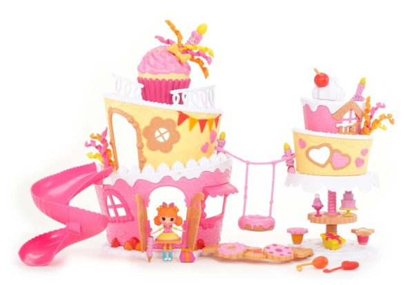 Mini Lalalopsy Super Silly Party Musical Cake Playset