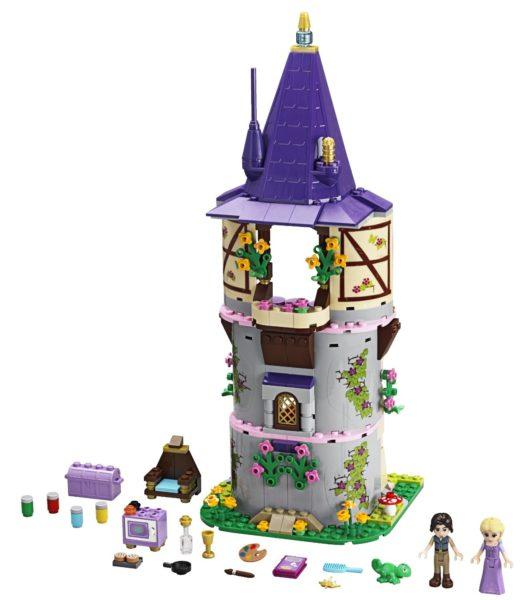 Rapunzel's Tower LEGO