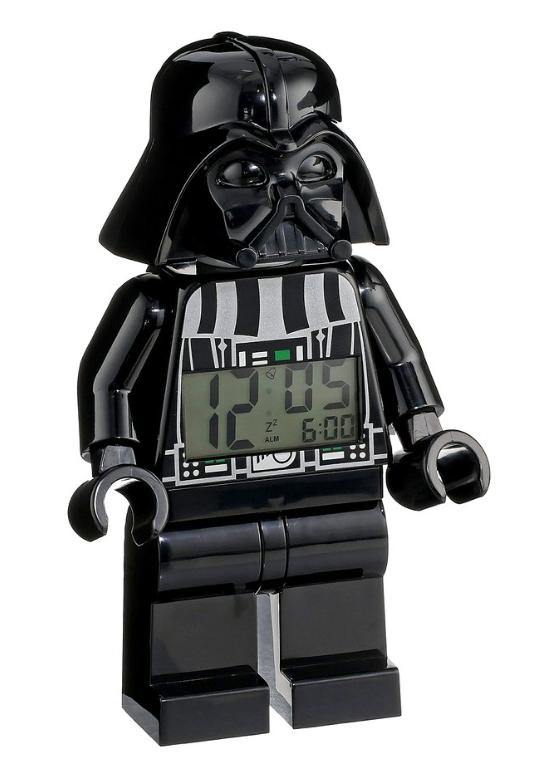 Star Wars Darth Vader Mini-Figure Alarm Clock