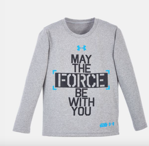 Star Wars Under Armour Force Be With You