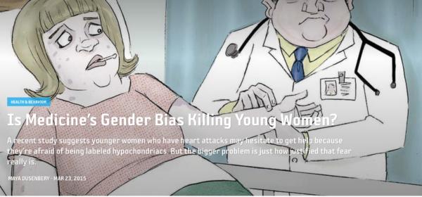 Is Medicine's Gender Bias Killing Young Women?