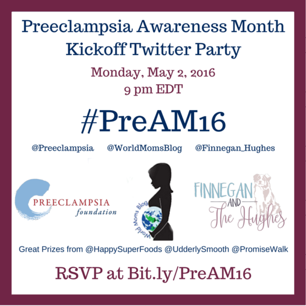 Preeclampsia Awareness Month #PreAM16