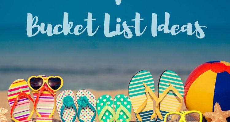 37 Family Summer Bucket List Ideas