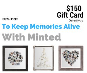 Fresh Picks To Keep Memories Alive With Minted (Plus $150 Giveaway)