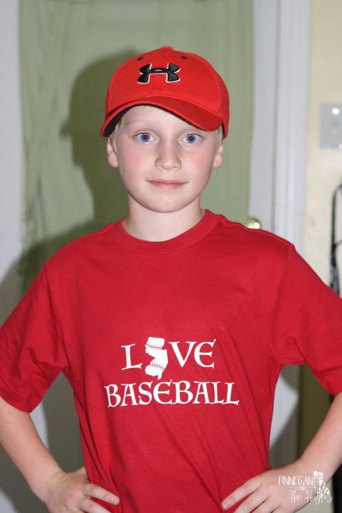 New Jersey Baseball Shirt