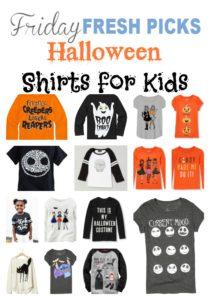Fresh Picks: Halloween Shirts for Kids