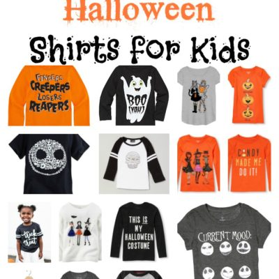 Fresh Picks: Halloween Shirts for Kids