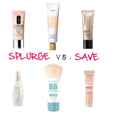 FRIDAY FRESH PICKS: SPLURGE VS. SAVE FOUNDATIONS