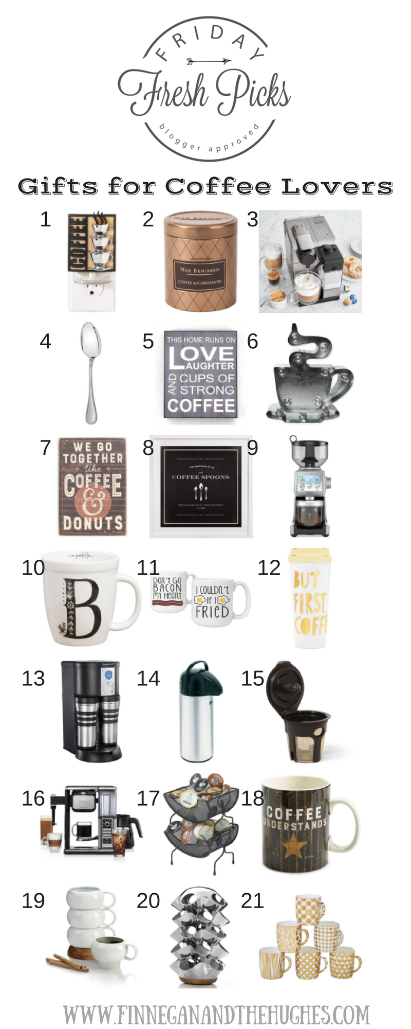 Friday Fresh Picks Gifts for Coffee Lovers