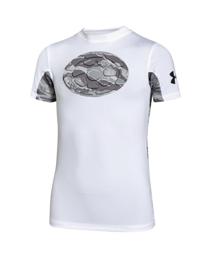 Under Armour Boys' UA Gameday Armour Chest Short Sleeve Shirt