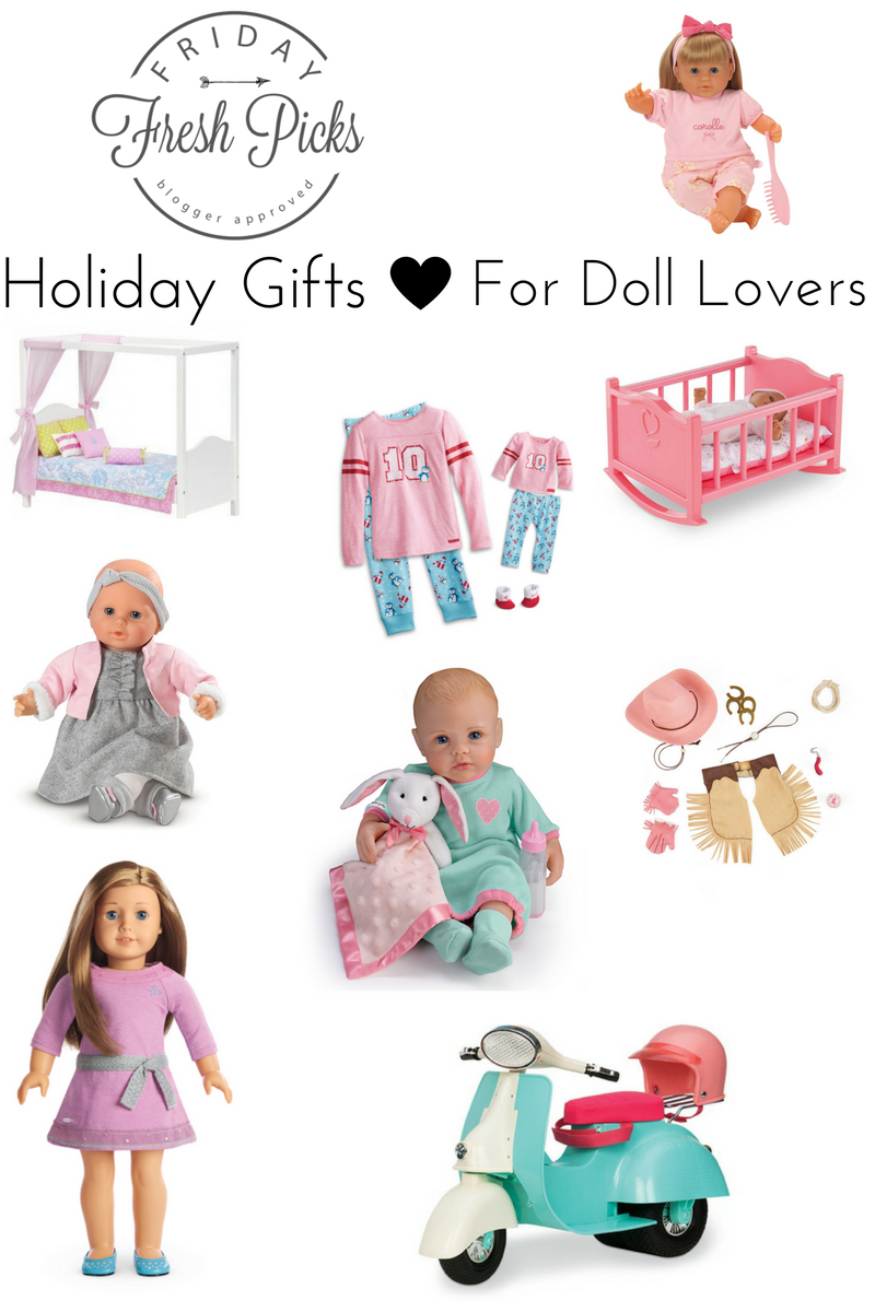 Holiday Gifts for Doll Lovers