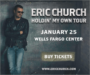 Eric Church Holdin' My Own Tour {Ticket Giveaway}
