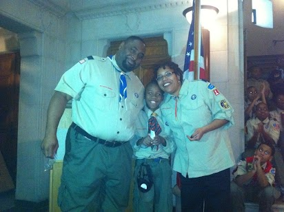 Worthy Wednesdays: Scouting is a family affair