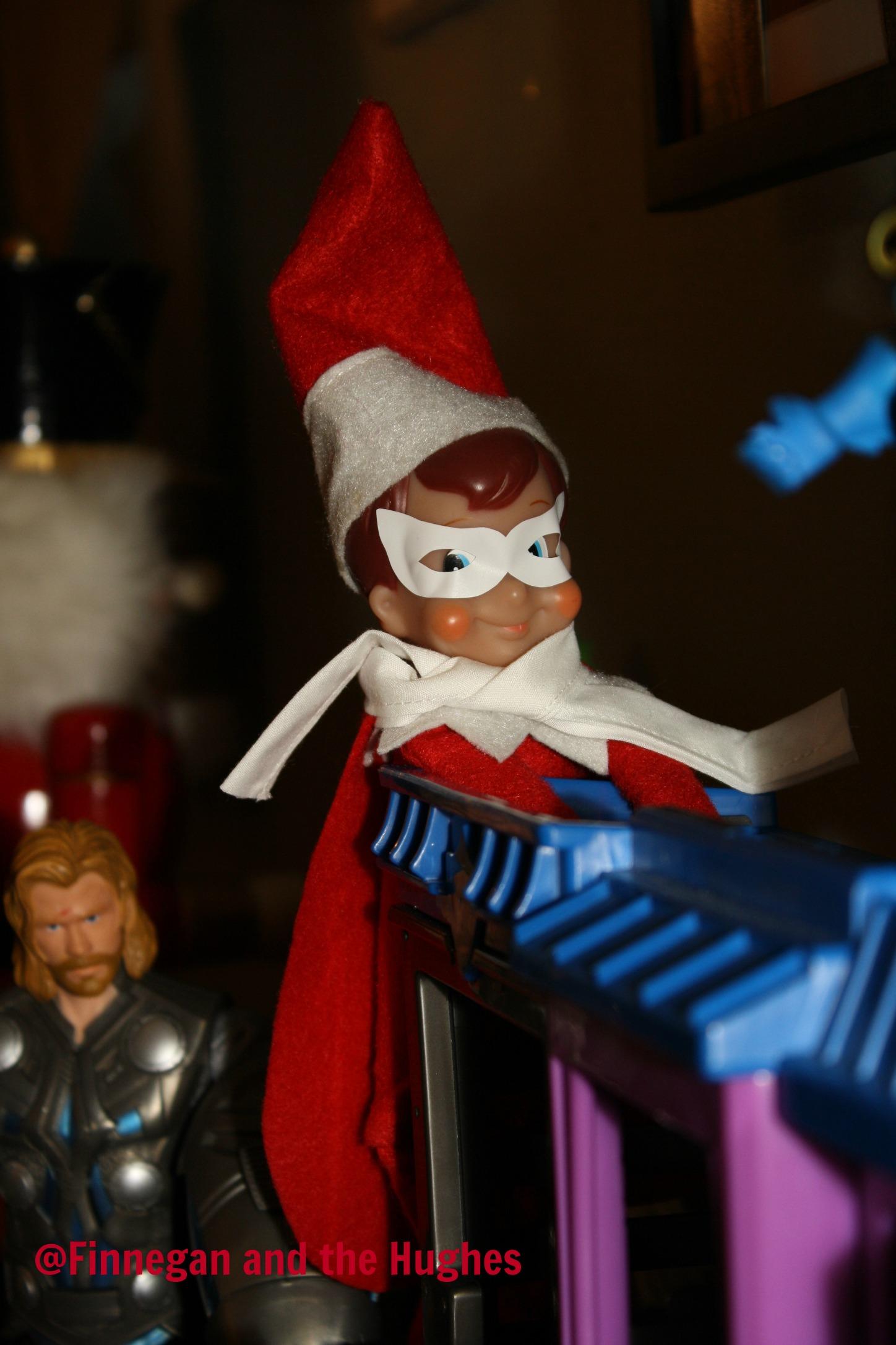 Tis the Season…Our Elf on the Shelf