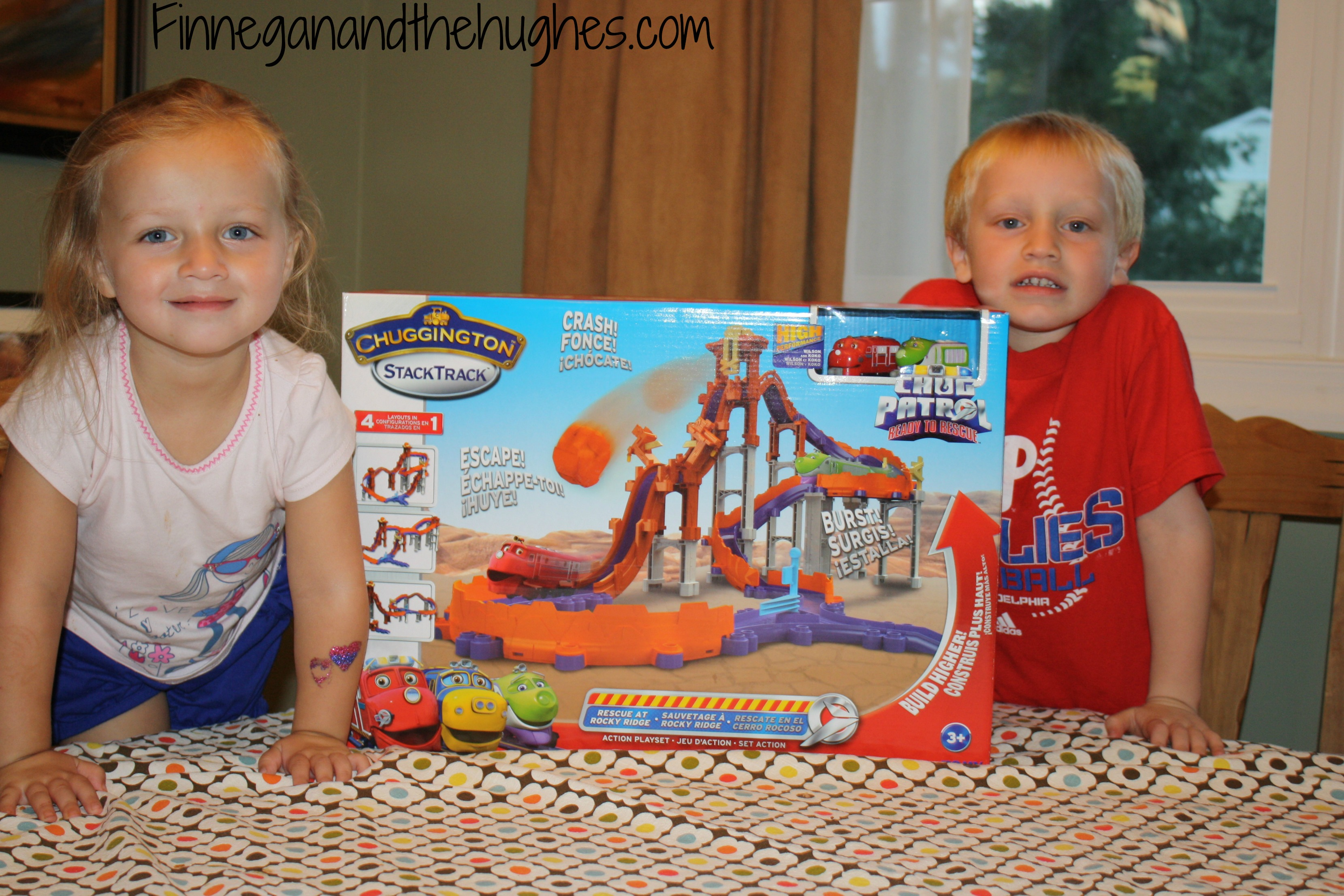 Chuggington Stack Track Playset and Chug Patrol DVD {Review & Giveaway}