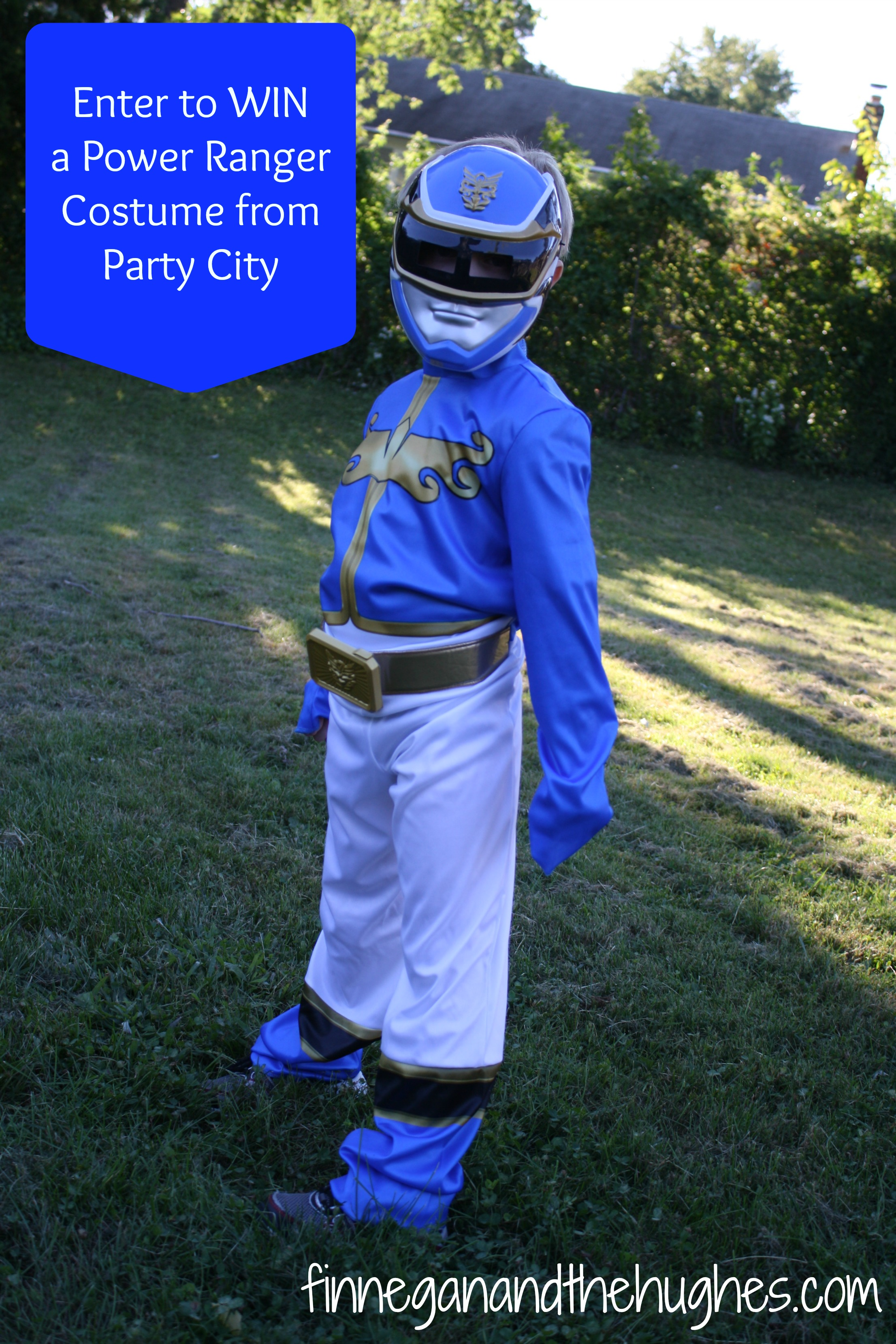 Transform into a Hero {Win a Power Ranger Costume}