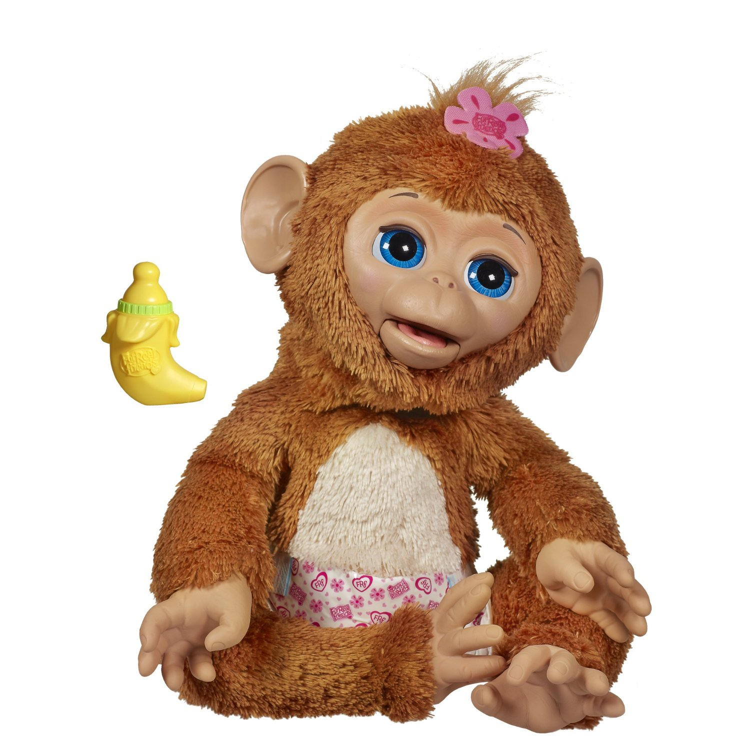 FurReal Friends Cuddles My Giggly Monkey Pet {Review}