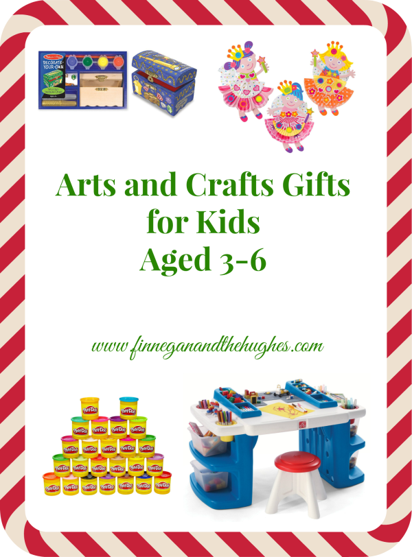 Holiday Gift Guide: Arts and Crafts Gifts for Kids Aged 3-6