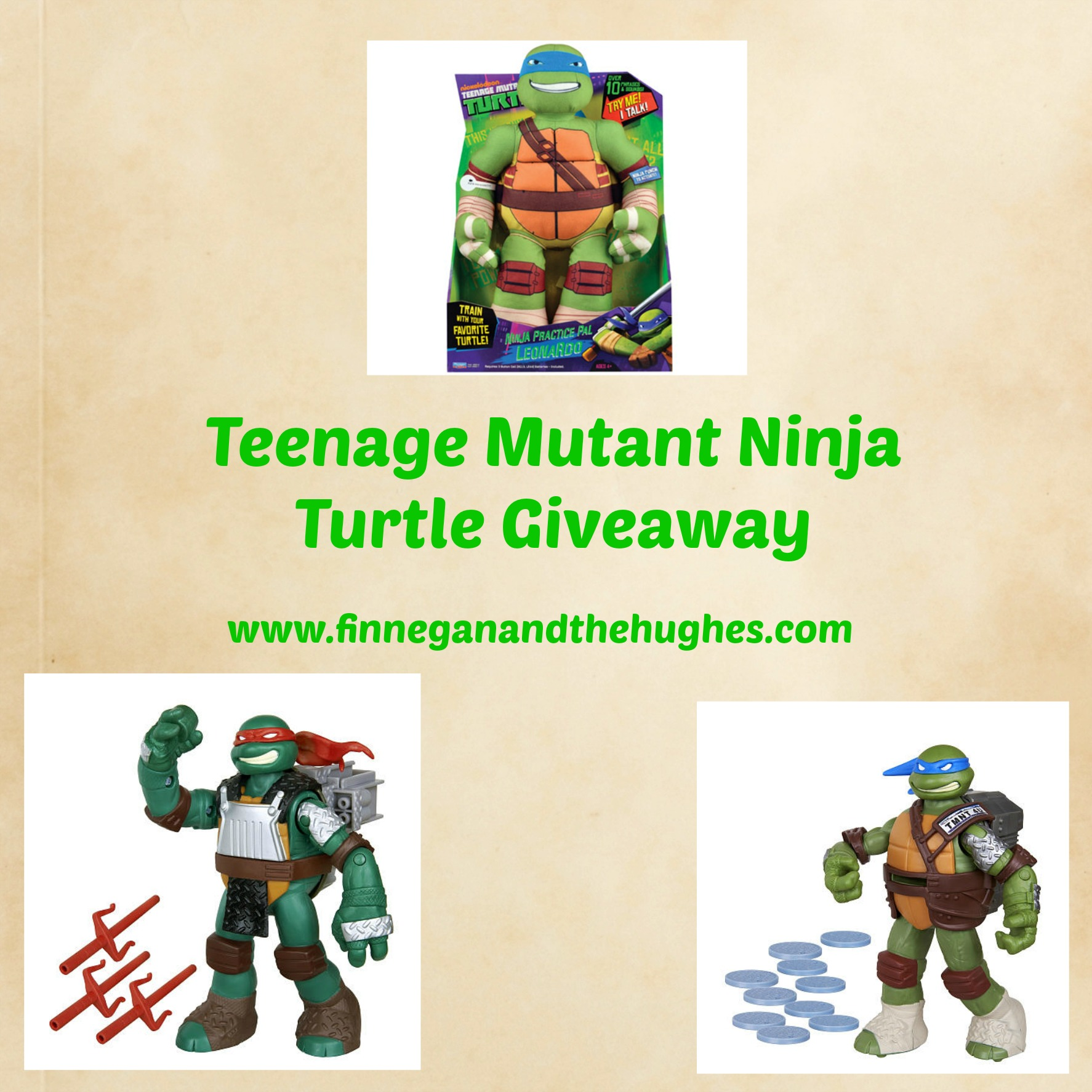 Teenage Mutant Ninja Turtles {Giveaway}