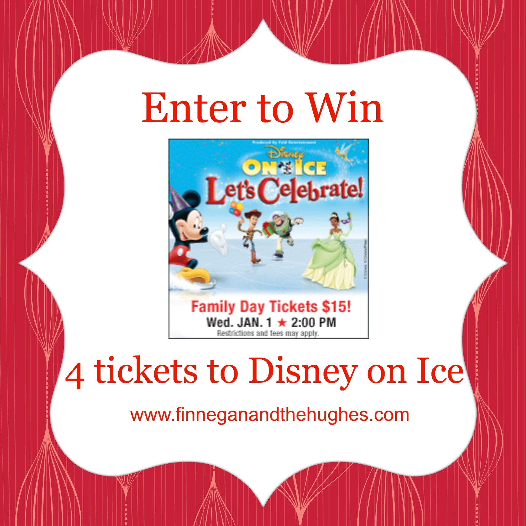 Disney on Ice Discount Code and 4 ticket GIVEAWAY