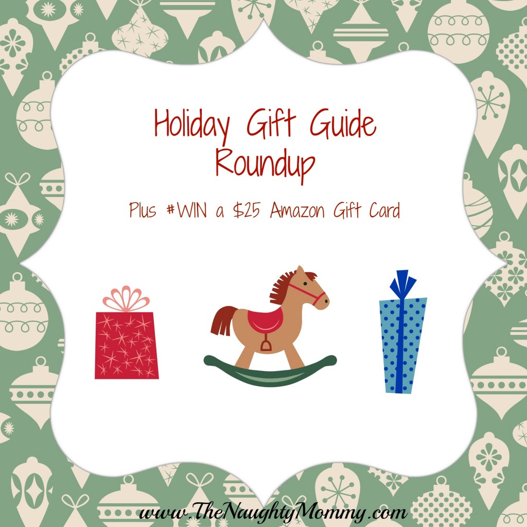 Holiday Gift Guide Round-up and Amazon Gift Card Giveaway