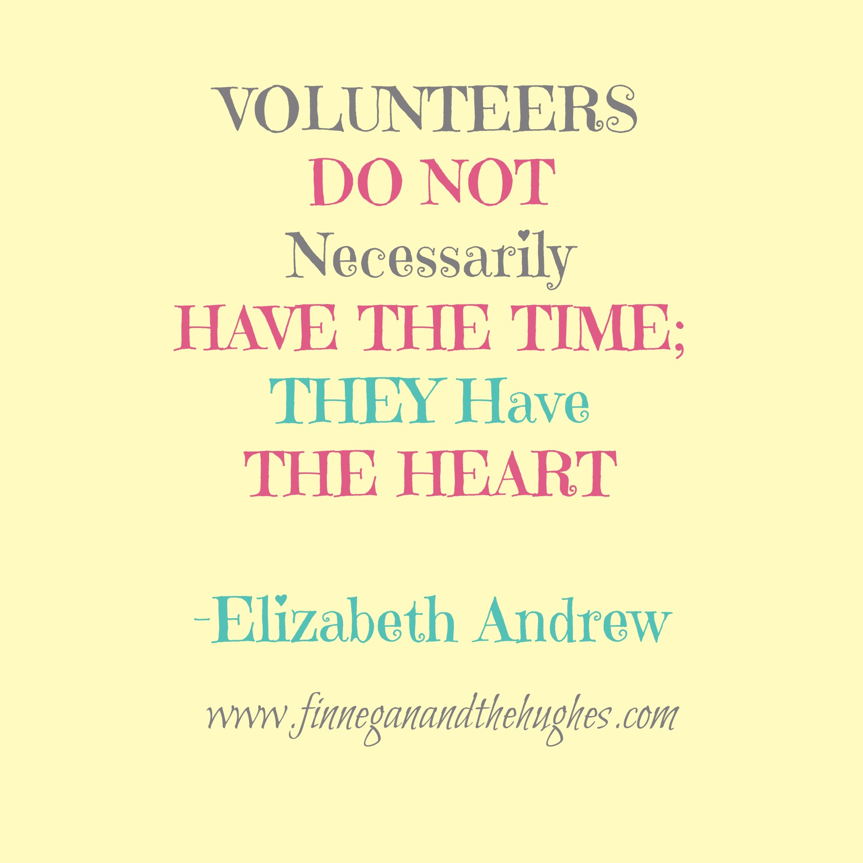 Volunteering: Thoughtful Thursday Link-Up