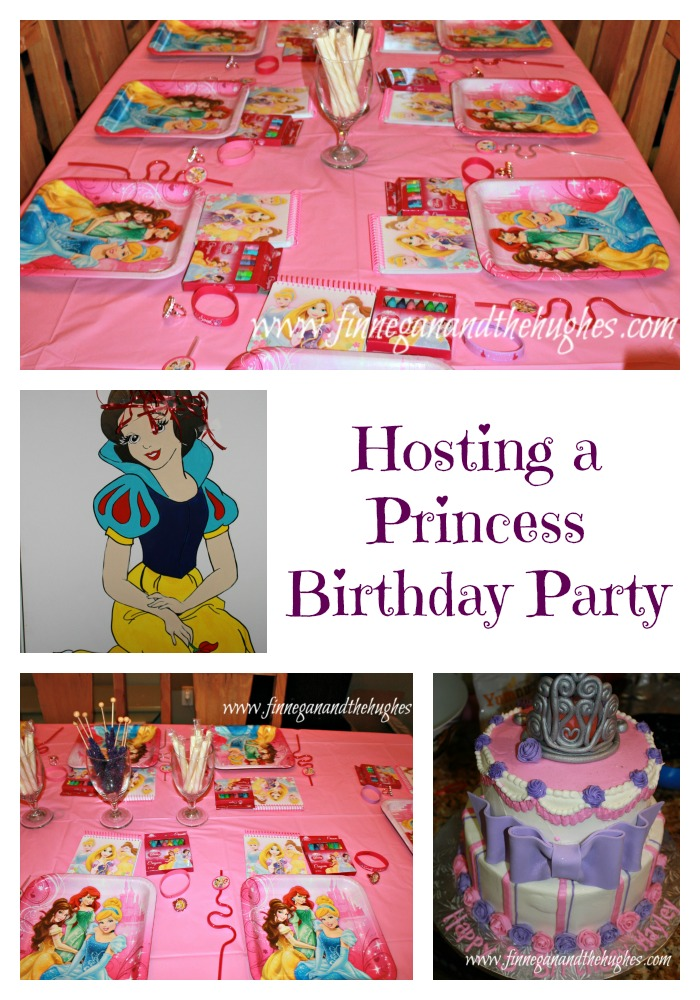 Hosting a Princess Birthday Party